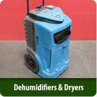 Dehumidifiers & Carpet Dryers