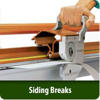 Siding Breaks